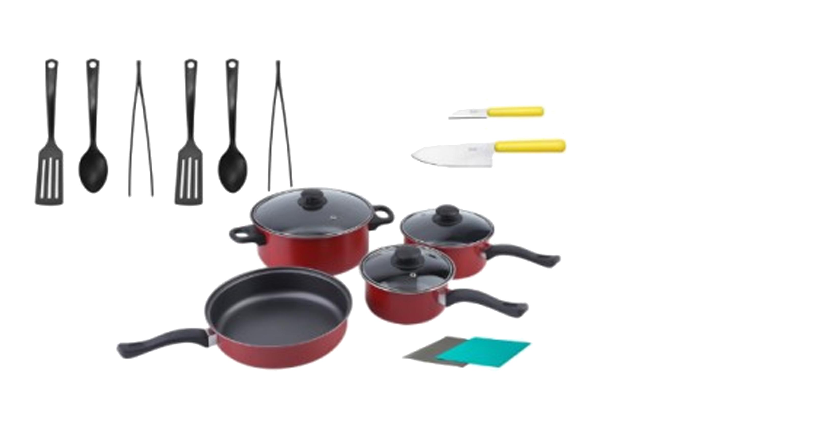 Inhabitr Basic Cookware Set 1