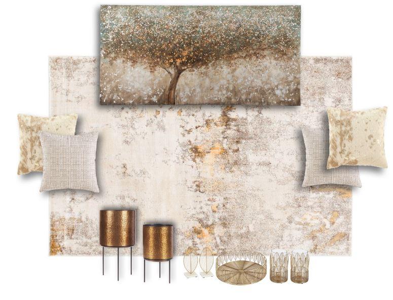 Alyssa Living Room Decor Set 1