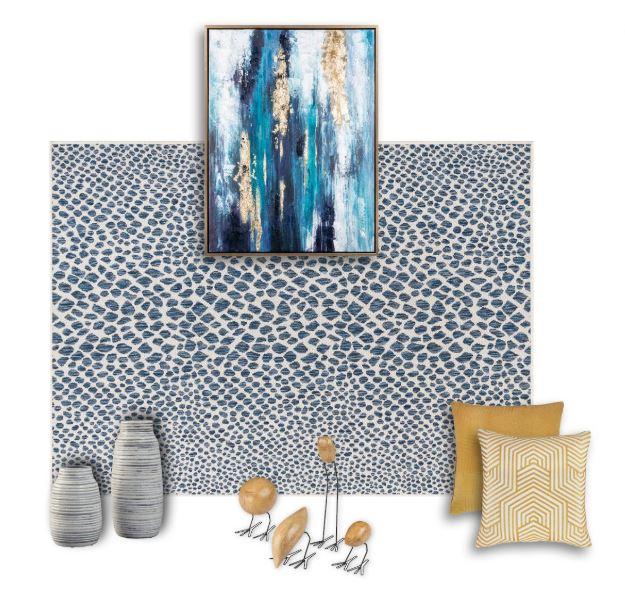 Iris Living Room Decor Set