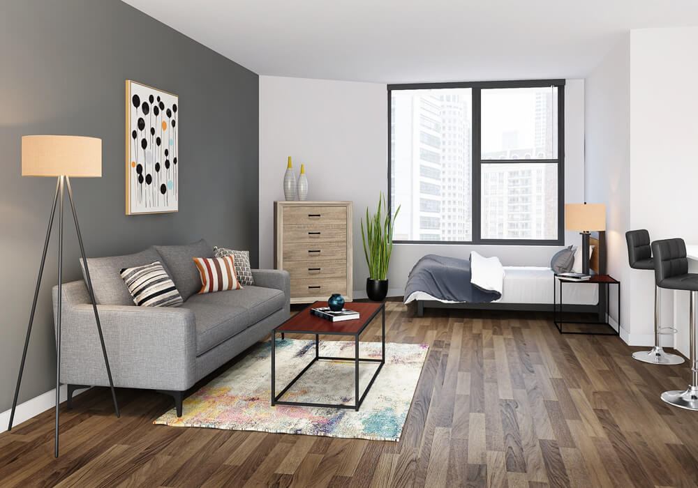 Avis 1 Bed Apartment Mini Set
