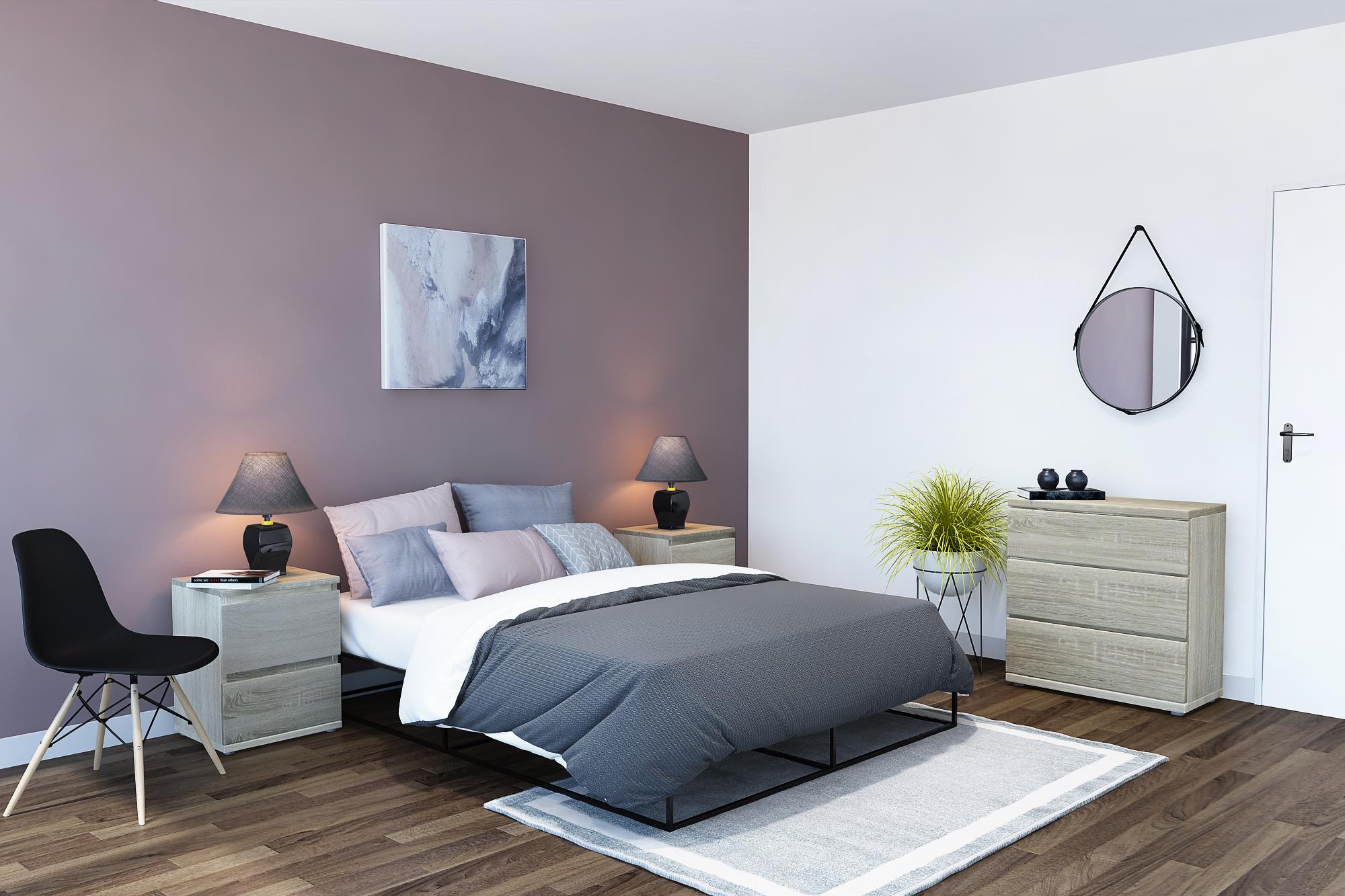 Zen I Bedroom Furniture Set 4