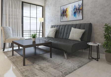 Zen Living Room Rental Furniture Set