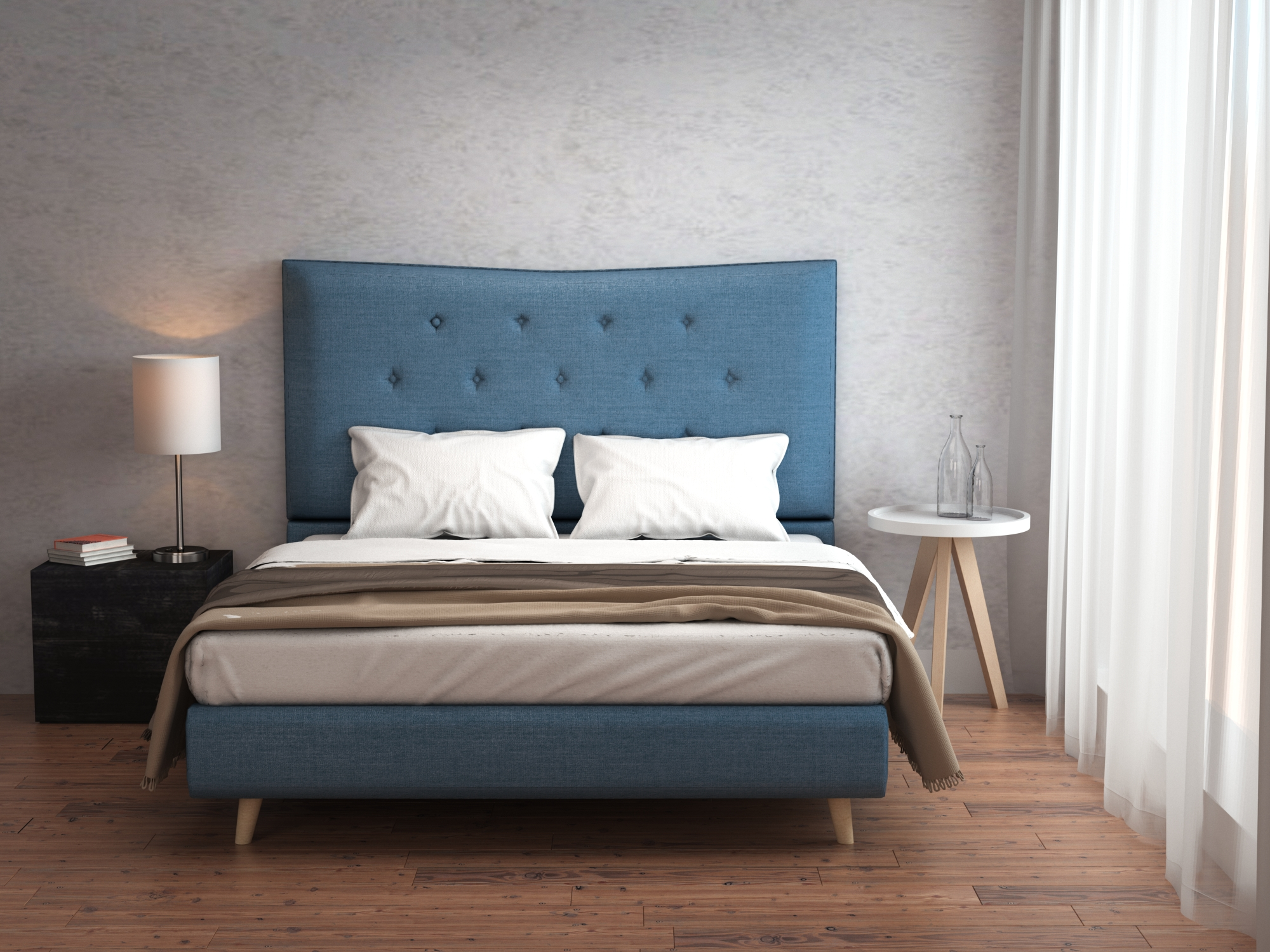 Modern Lite Bedroom Furniture Set 6