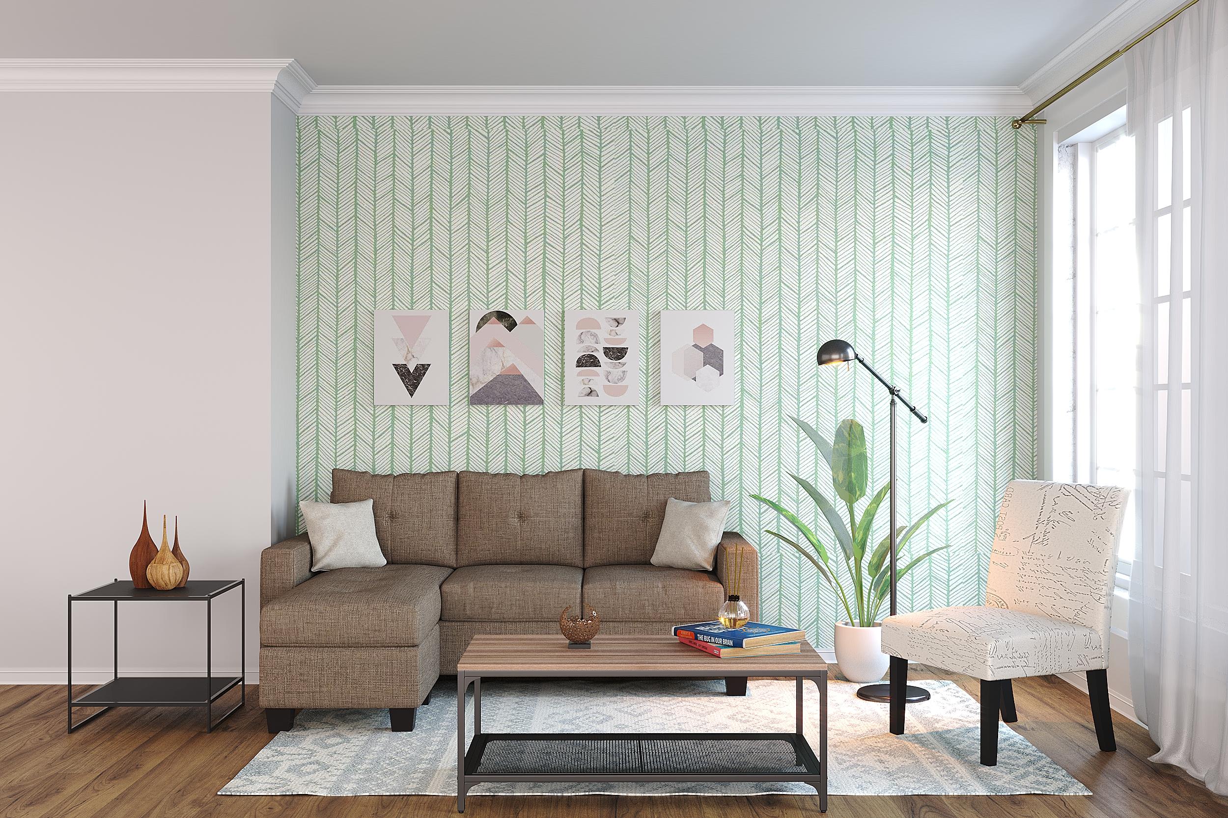 Bliss Living Room Rental Furniture Set 1