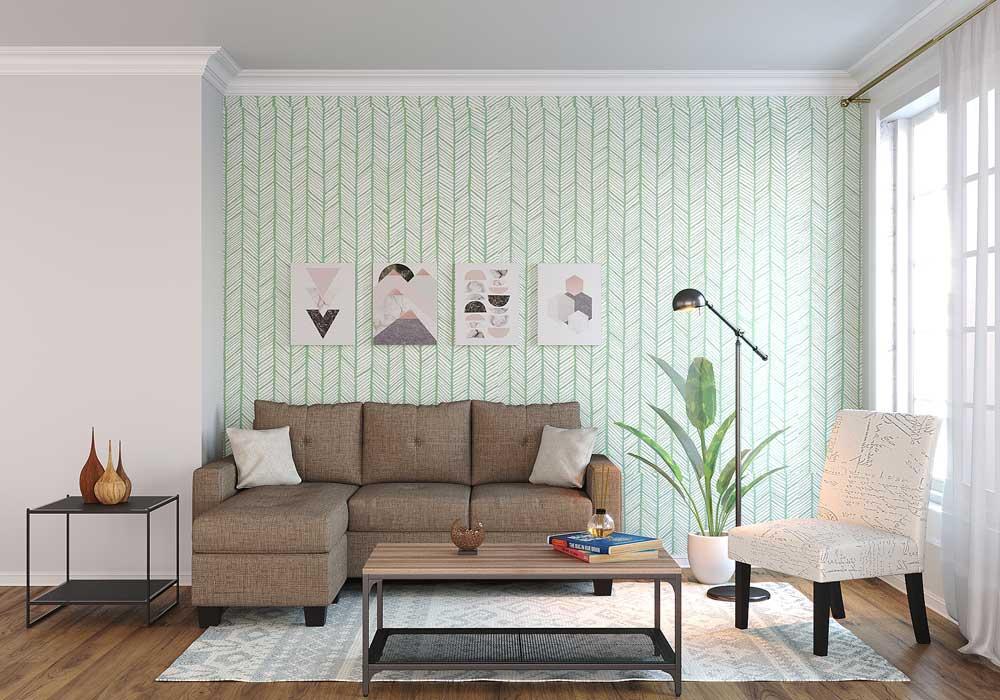 Bliss Living Room Rental Furniture Set