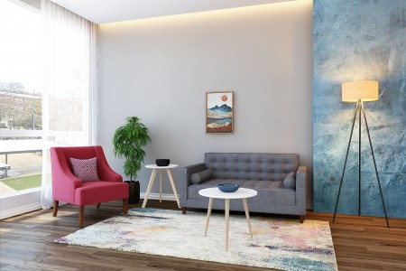 Joy Living Room Rental Furniture Set