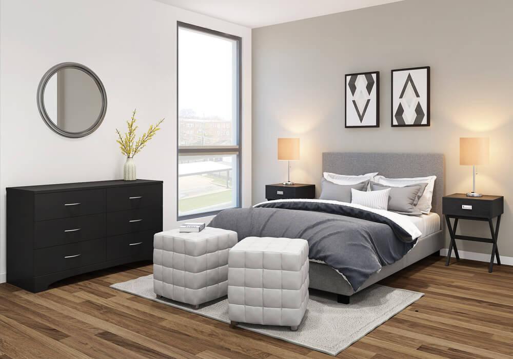 Milton Lite Bedroom Set