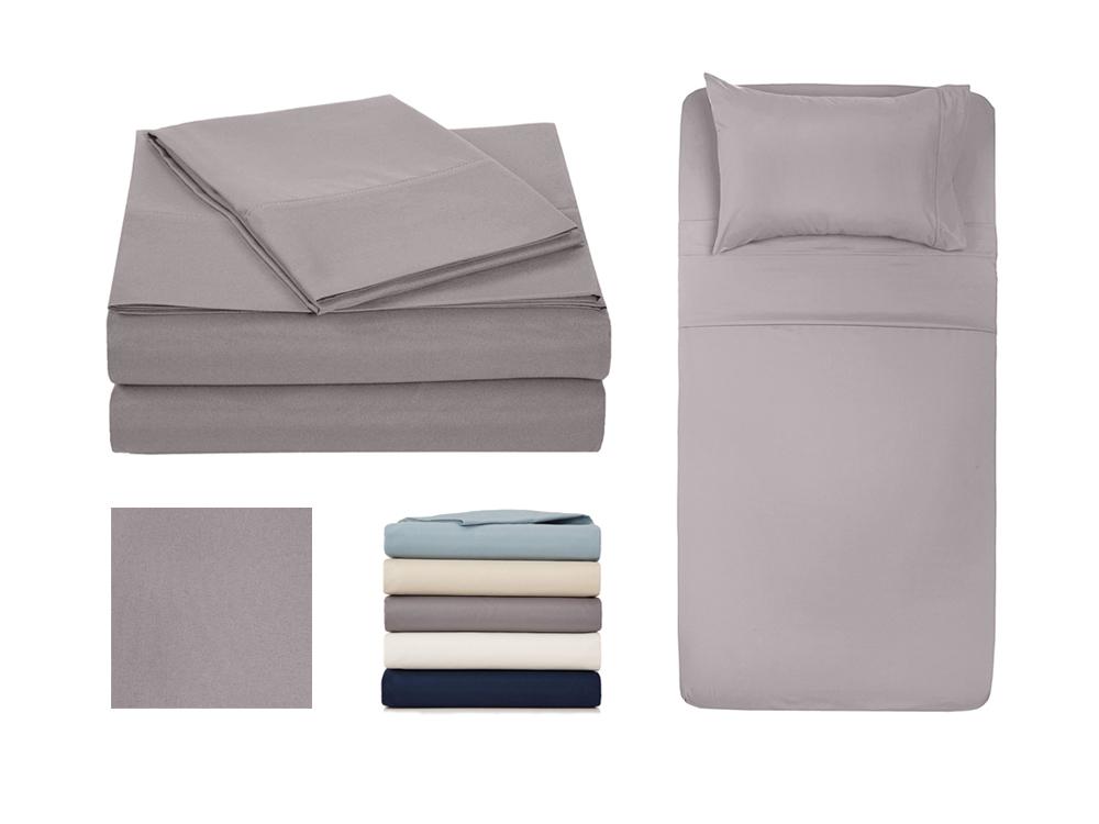 Inhabitr Basic Linen Set 3