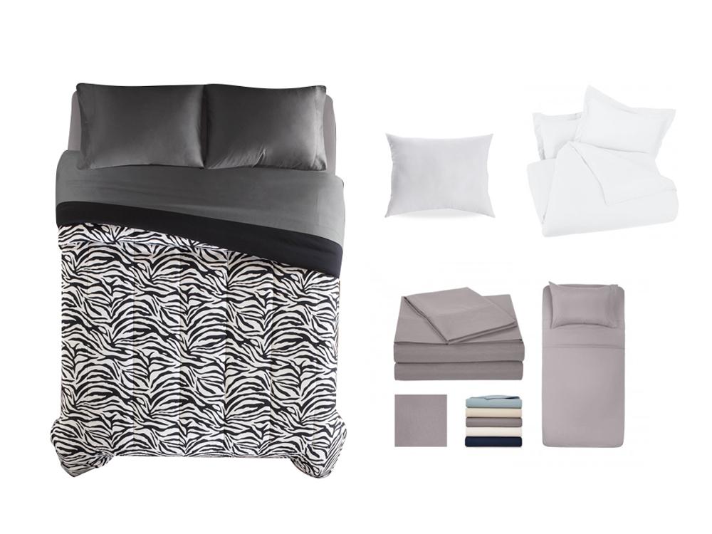 Inhabitr Basic Linen Set 5