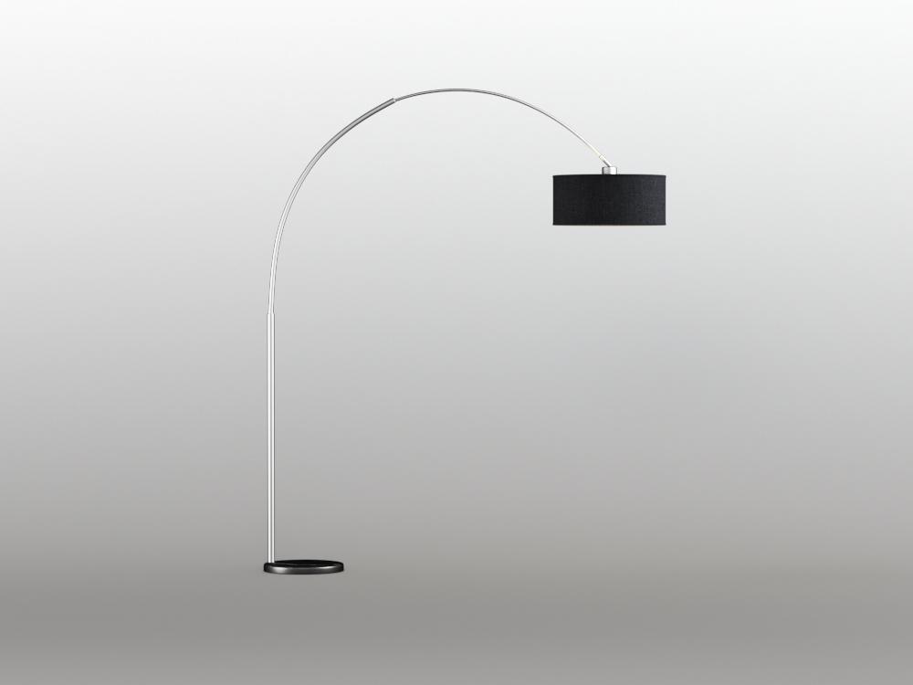 Inhabitr Arch Floor Lamp 2