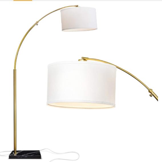 Inhabitr Arch Floor Lamp 1