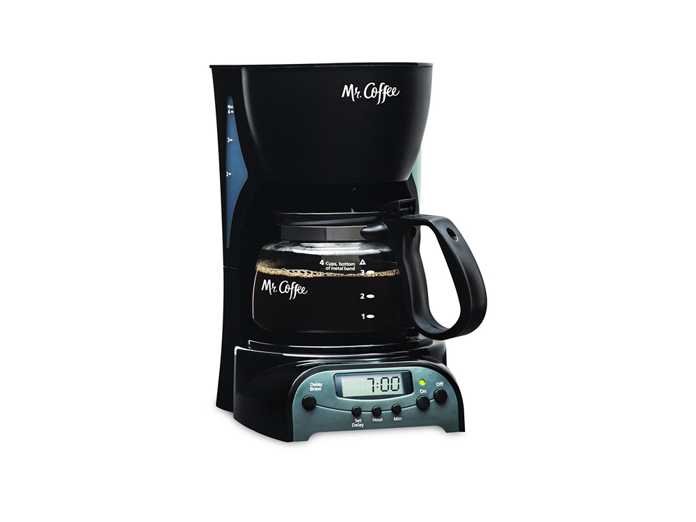 Inhabitr 4 Cup Coffee Maker 1