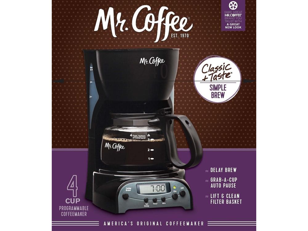 Inhabitr 4 Cup Coffee Maker 4