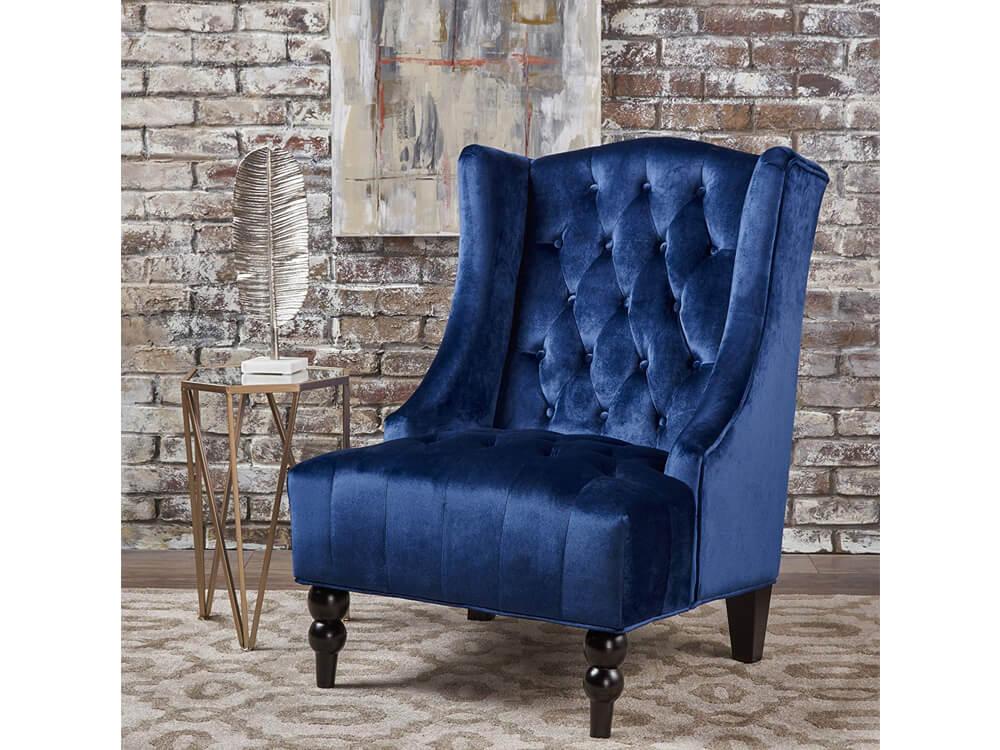 Blue Sapphire Accent Chair 3