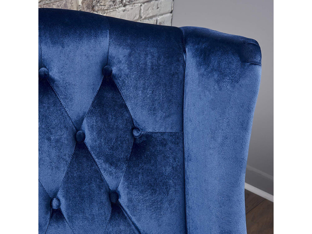 Blue Sapphire Accent Chair 5