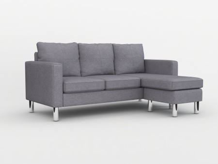 Small Space Modern Troy Sectional Sofa