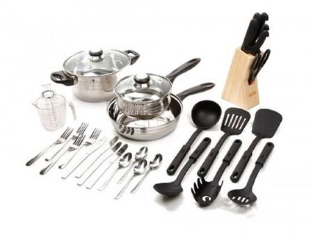32 piece cookware set