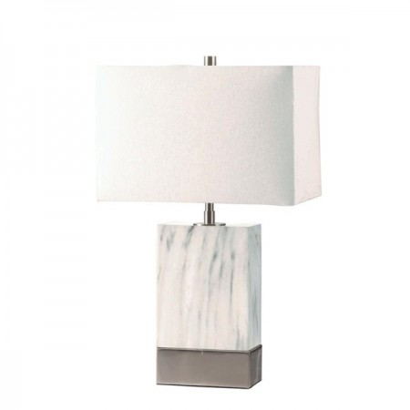 Square Marble Table Lamp
