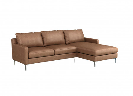 Medici Leather Sectional Sofa
