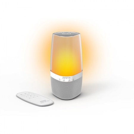 Sound Machine with Aromatherapy Diffuser, Light Therapy, and Bluetooth Speaker