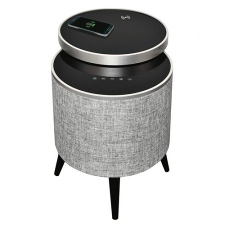 SoundTable BT Speaker w/Swivel Glass Top