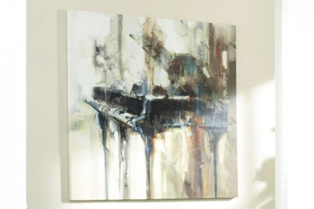 Abstract Piano Art work