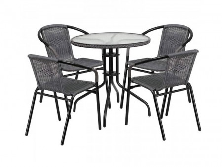 Avens Patio Bistro Set
